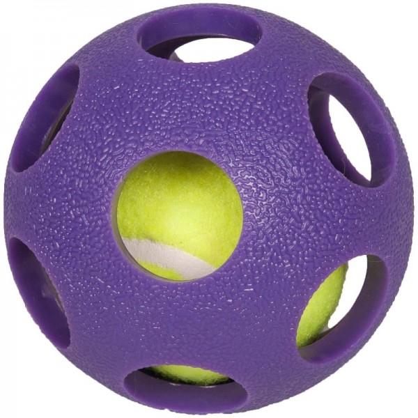 FLAMINGO топка-тенис за кучета 9см
