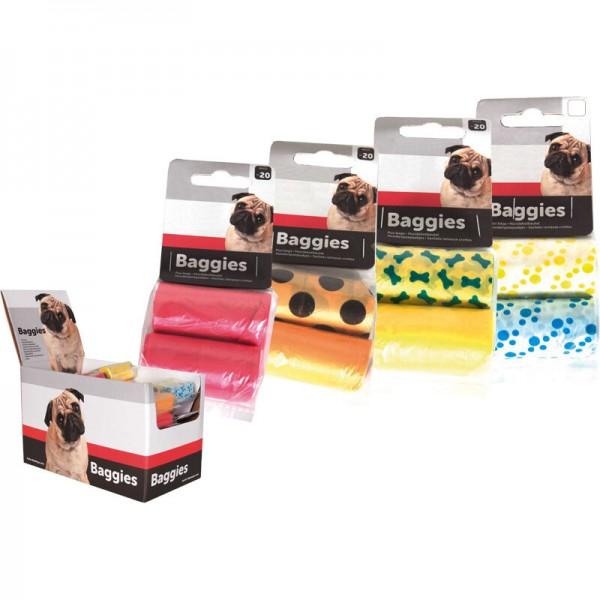 FLAMINGO цветни торбички за кучета