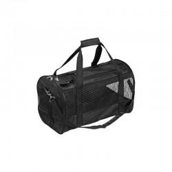 FLAMINGO черна транспортна чанта за кучета
