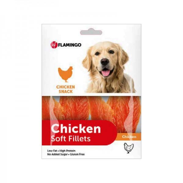 FLAMINGO CHICK'N SNACK меки пилешки филенца 170 гр