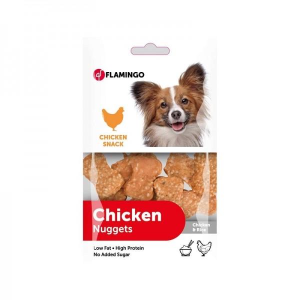 FLAMINGO лакомство CHICK'N SNACK с пиле и ориз за кучета 100гр