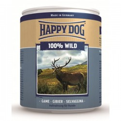Happy Dog Wild Pur Хепи Дог Консерва с Дивечово (Еленско) Месо