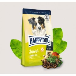 Happy Dog Junior Lamb & Rice Хепи Дог Джуниър Агнешко с Ориз Кучета над 7 месеца