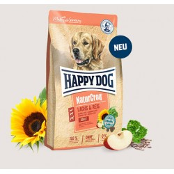 Happy Dog NaturCroq Lachs & Reis - Премиум Храна за Възрастни Кучета със Сьомга с Ориз
