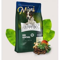Happy Dog Supreme Mini Sensitive Montana - Храна за кучета Хепи дог Супер Премиум Монтана за Кучета от Малки Породи с Конско месо