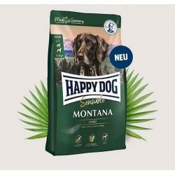 Happy Dog Supreme Sensitive Montana - Храна за кучета Хепи дог Супер Премиум Монтана с Конско месо