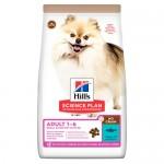 HILL'S SCIENCE PLAN NO GRAIN Medium Adult - пълноценна суха храна за кучета от дребните и мини породи (до 10кг) с риба тон