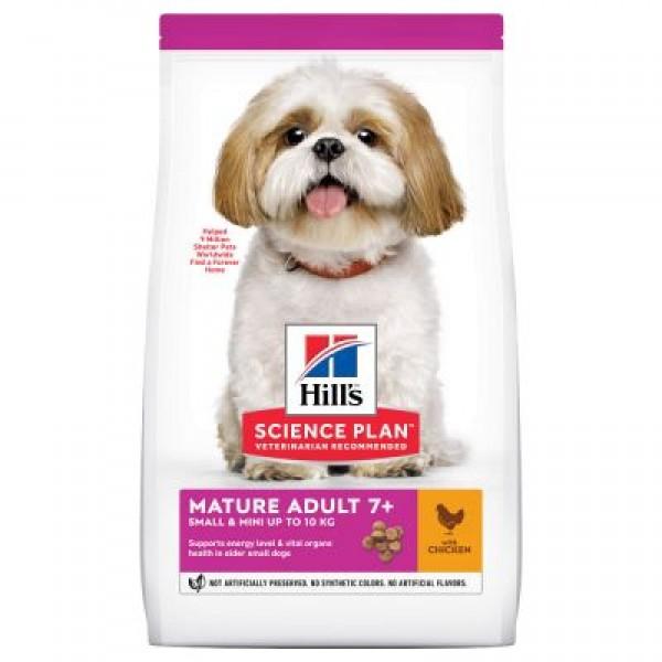 Hill's Science Plan Mature Small and Mini Chicken 7+ /с пилешко/ - Храна за кучета за дребни и миниатюрни породи до 10кг. на възраст над 7 години