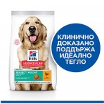 Hill's Science Plan Perfect Weight Adult Large – Пълноценна суха храна за кучета от големи породи над 1 година за намаляване и поддържане на теглото