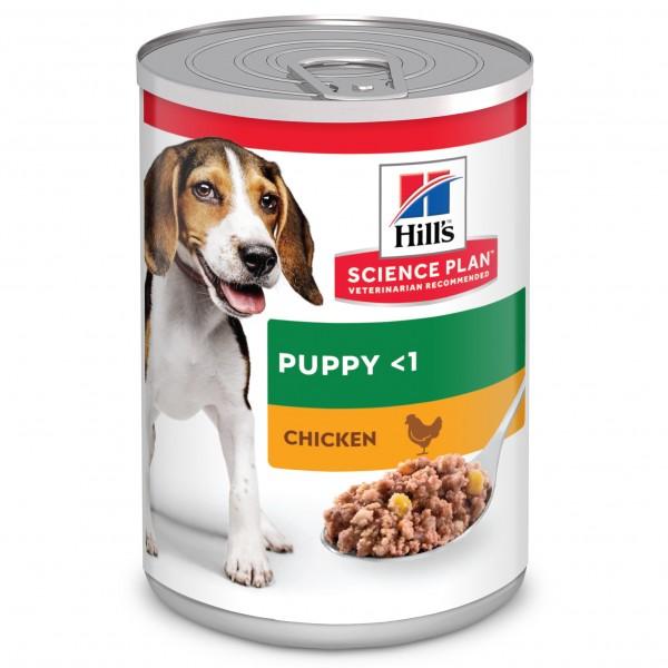 Hill's Science Plan Puppy с пилешко /консерва/ - За кученца от всички породи от отбиването до 1 г. Бременни и кърмещи кучета