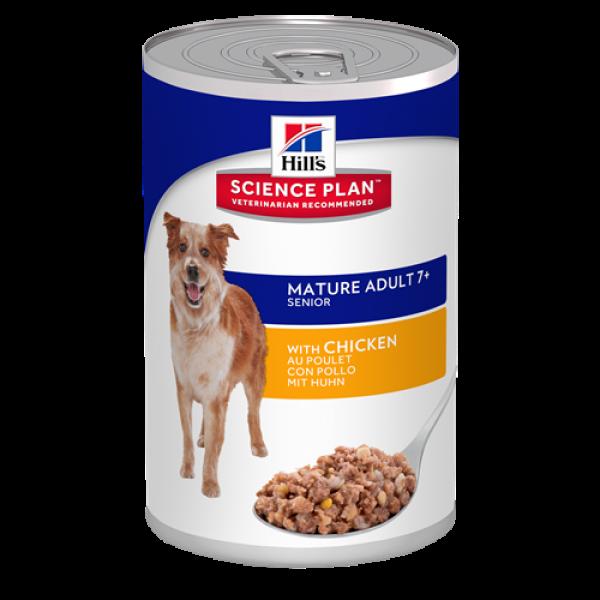 Hill's Science Plan Canine Mature Adult Active Longevity Chicken – За кучета от всички породи на възраст над 7 години.