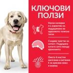 Hill's Science Plan Canine Adult Light Lаrge Breed с пилешко  - Пълноценна суха храна за кучета от едри породи над 25кг, с понижени енергийни нужди, на възраст от 1 до 5 години