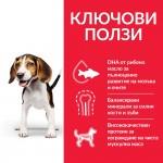 Hill's Science Plan Canine Puppy Medium с пилешко - За подрастващи кучета от средните породи до 25 кг., от отбиването до 1 г. Бременни и кърмещи кучета.