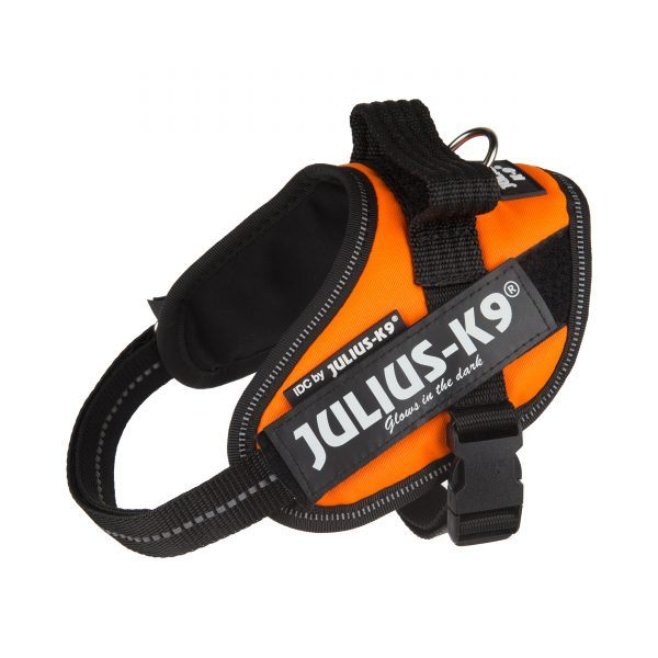 Julius K9 IDC Powerharness UV Оранжев Нагръдник за Кучета
