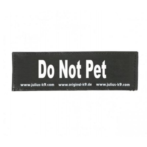 Julius-K9  Do Not Pet - голяма лепенка за кучета