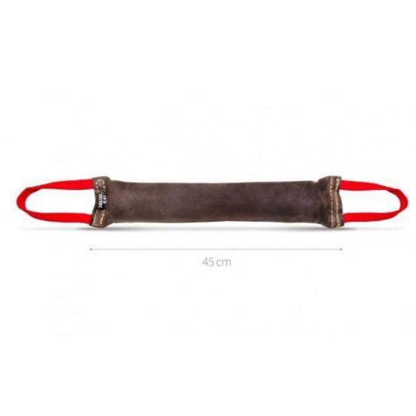 Julius-K9 - Играчка за кучета от кожа, 2 дръжки,  45 х 7 см