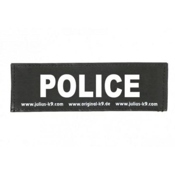 Julius-K9 POLICE - голяма лепенка за кучета