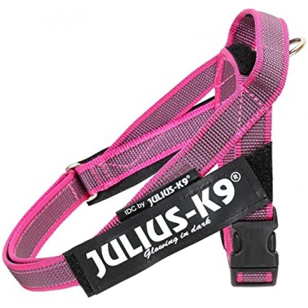 Julius K9  IDC Color & Gray Belt Powerharness   Розов Нагръдник за Кучета