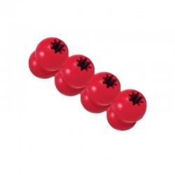 Kong Goodie Ribbon - гумена играчка за кучета за лакомства