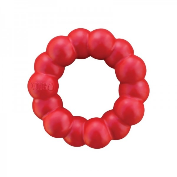 Kong Ring - пръстеновидна здрава гума за игра за кучета