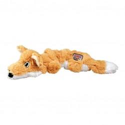 KONG Scrunch Knots Fox - Конг играчка за кучета - лисичка