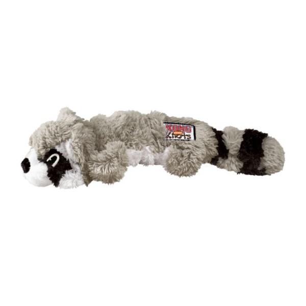 KONG Scrunch Knots Raccoon - Плюшена играчка за кучета