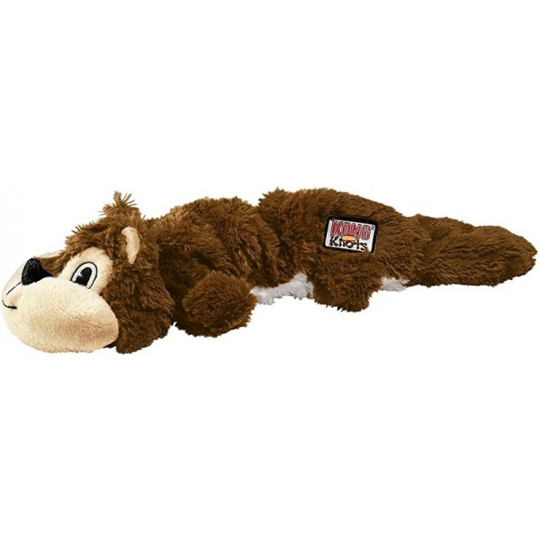 Kong Scrunch Knots Squirrel - Конг играчка за кучета - катеричка
