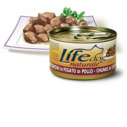 Life Natural Lifedog Chicken Liver - с пилешки черен дроб 90 грама