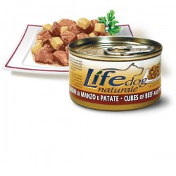 Life Natural Lifedog Cubes of Beef and Potatoes - с говеждо месо и картофи 90 грама