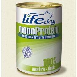 Life Natural Lifedog Monoprotein Duck - с патешко месо /монопротеин/ 400 грама
