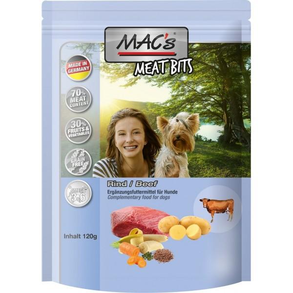 Mac's - лакомство за кучета със 70% говеждо, 120 гр