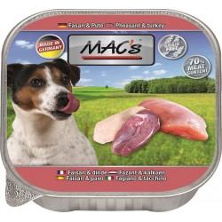 Mac's - пастет за кучета с фазан и пуйка, 150гр