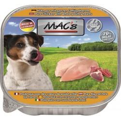 Mac's - пастет за кучета с  пилешко и пилешки сърца, 150гр