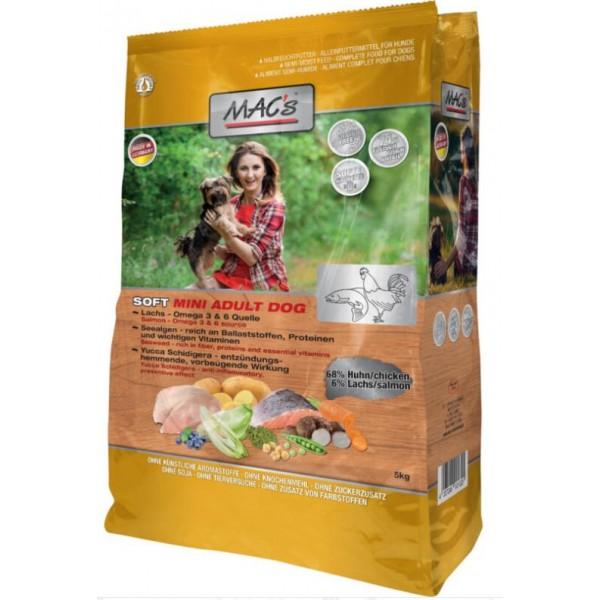 Mac's Soft - храна за кучета от дребни породи с пиле и риба