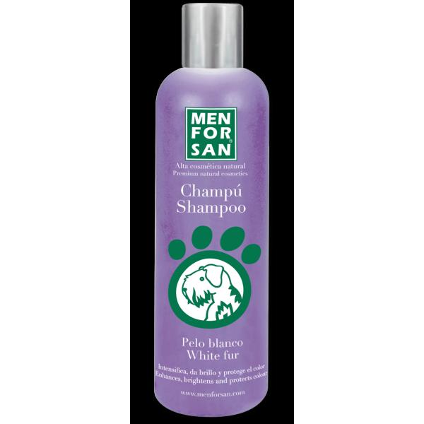 Menforsan - шампоан за кучета със светла козина