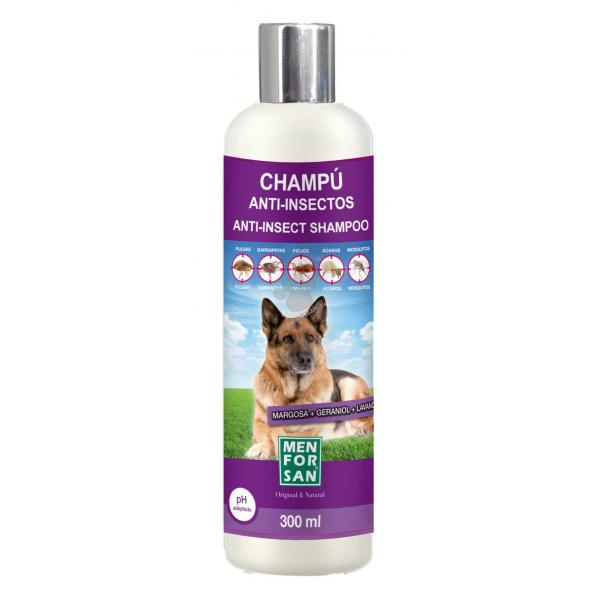 Menforsan - противопаразитен шампоан за кучета