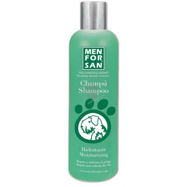 Menforsan - хидратиращ шампоан за кучета със зелена ябълка, за дълга или гъста козина