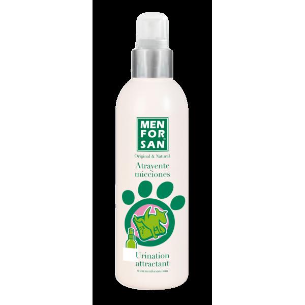 Menforsan - привличащ спрей за приучаване към хигиенни навици