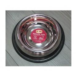 My Dog-Метална купа за куче с гумен кант