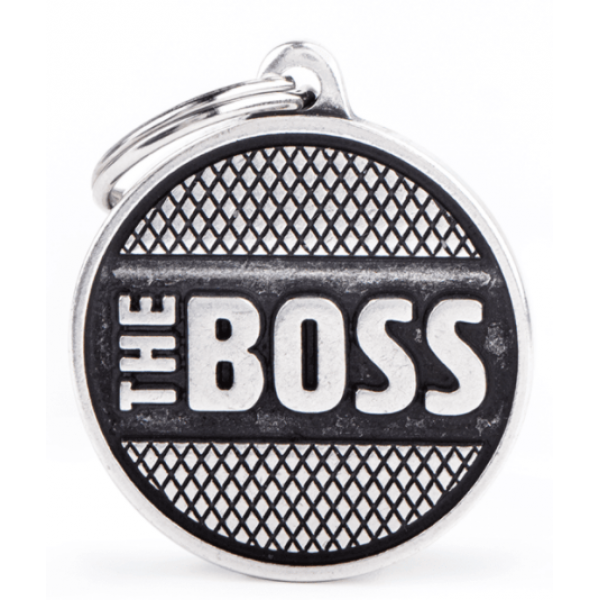 My Family - бронзов медальон с кръг 'The boss'