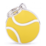 "My Family - медальон с кръг ,,Тенис топка"""