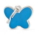My Family - медальон във формата на пеперудка