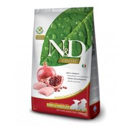 N&D PRIME Grain-Free Puppy Mini & Medium Chicken & Pomegranate – Промоция 10% отстъпка за 7кг
