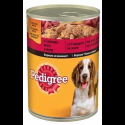 Pedigree pouch Beef - Консерва с говеждо