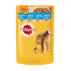 Pedigree pouch junior chicken - Пауч с пилешко месо