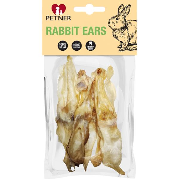 Petner Dried Rabbit Ears - сушени заешки уши 50 гр.