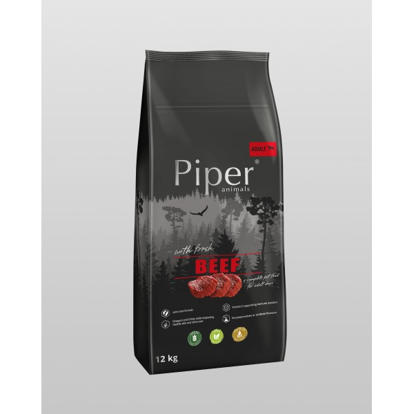 Piper Super Premium Adult with Beef - Храна за Кучета с Говеждо