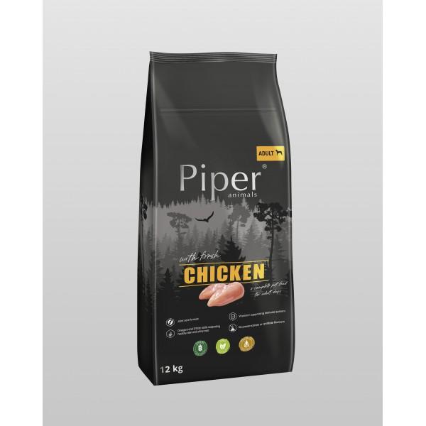 Piper Super Premium Adult with Chicken - Храна за Кучета с Пилешко
