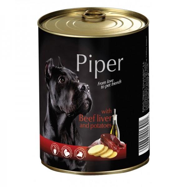 Piper beef liver and potatoes храна за кучета - консерва