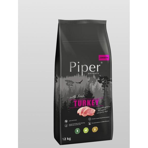 Piper Super Premium Junior with Turkey - Храна за Подрастващи Кучета с Пуйка